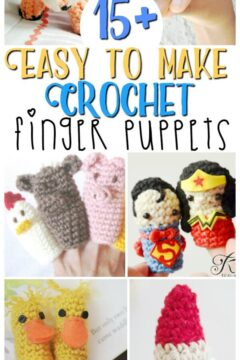15+ Crochet Finger Puppets