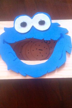 Letter-Eating Cookie Monster Printable Game