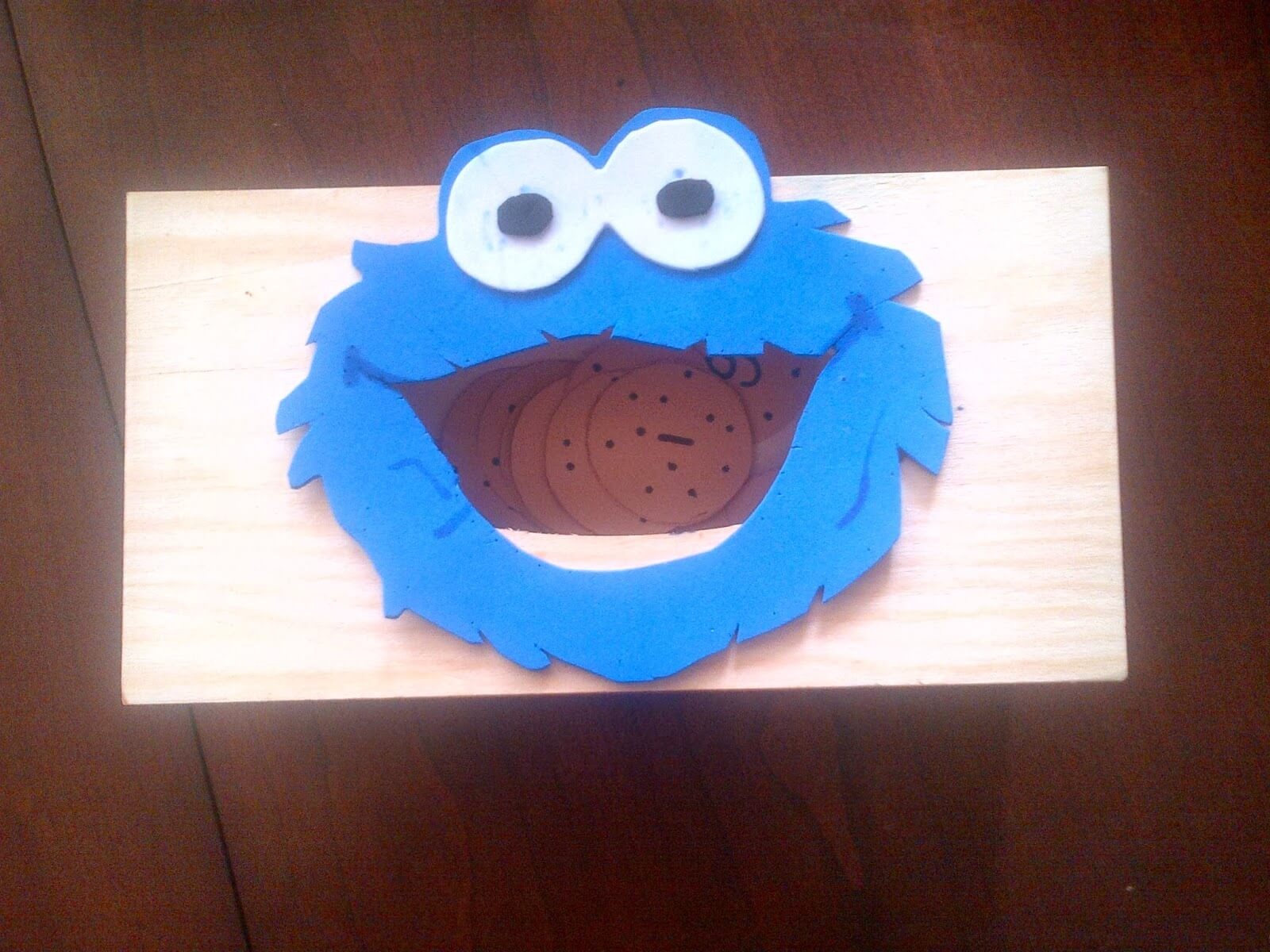 COOKIE MONSTER letter learning game - with free printable to make your own