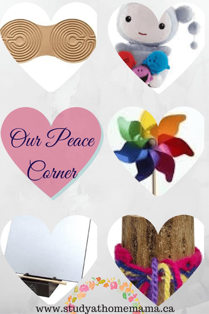 Montessori Peace Corner