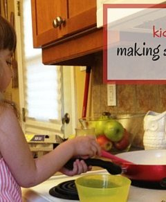 Kids in the Kitchen: Scrambled Eggs