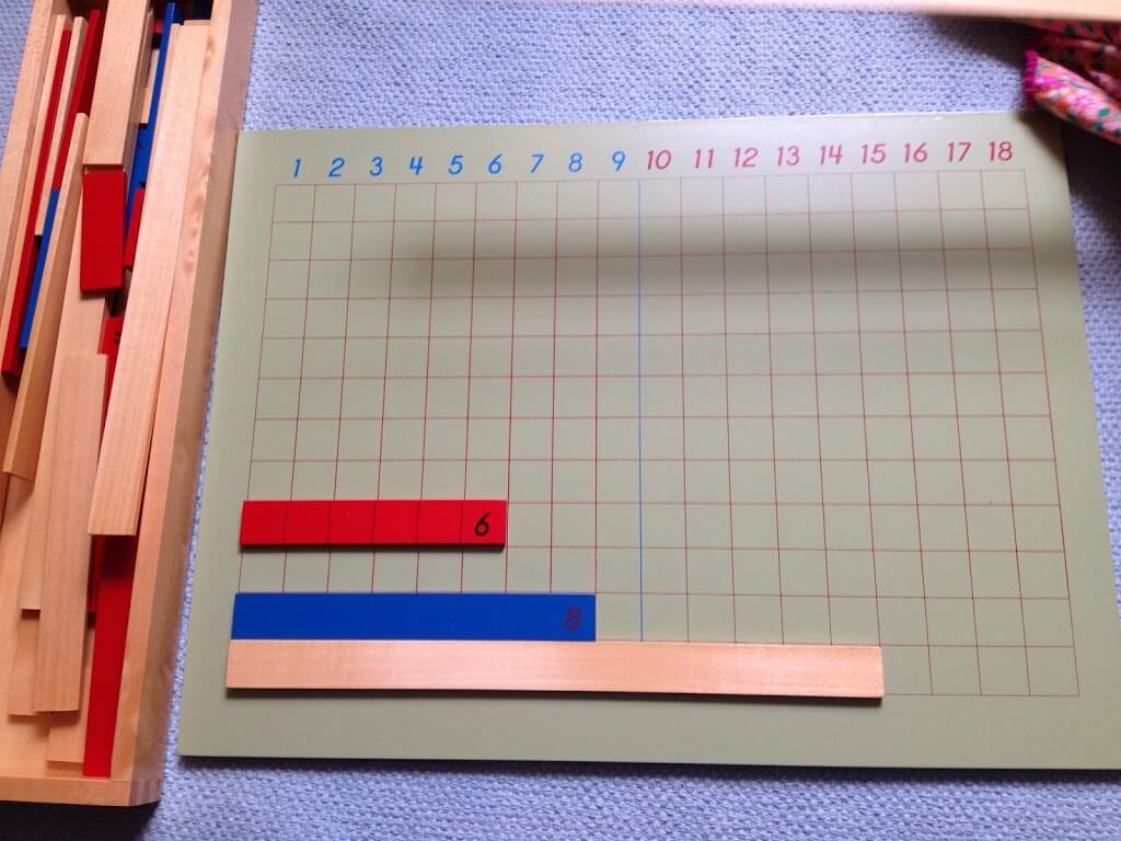 Montessori Math Materials Review by Study-at-Home Mama #subtraction #addition