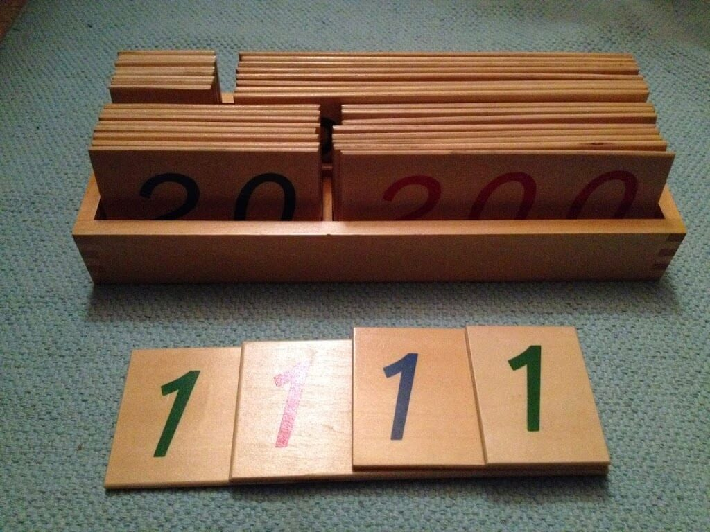 Montessori Materials Review by Study-at-Home Mama #numbercards
