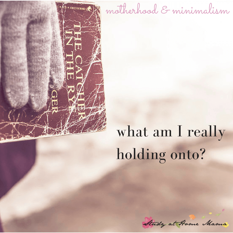 Motherhood and Minimalism: What am I really holding onto? (Purging Books)