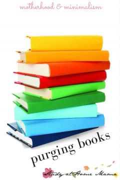 Mama Musing: Purging Books
