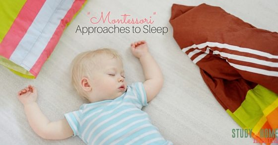 How do positive parents nurture sleep, or sleep train? Is one method better than the other.