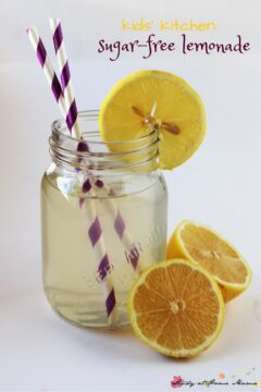 Kids' Kitchen: Sugar-free Lemonade Recipe
