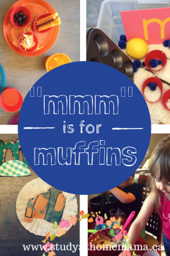 mmm is for muffin
