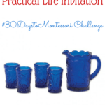 Set Up A Practical Life Invitation