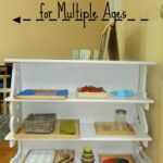 Homeschool Practical Life Shelf for Multiple Ages