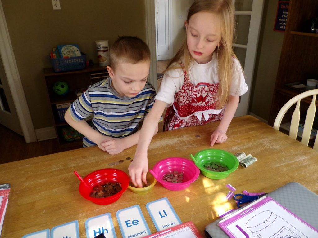 Understanding money - Montessori on a budget