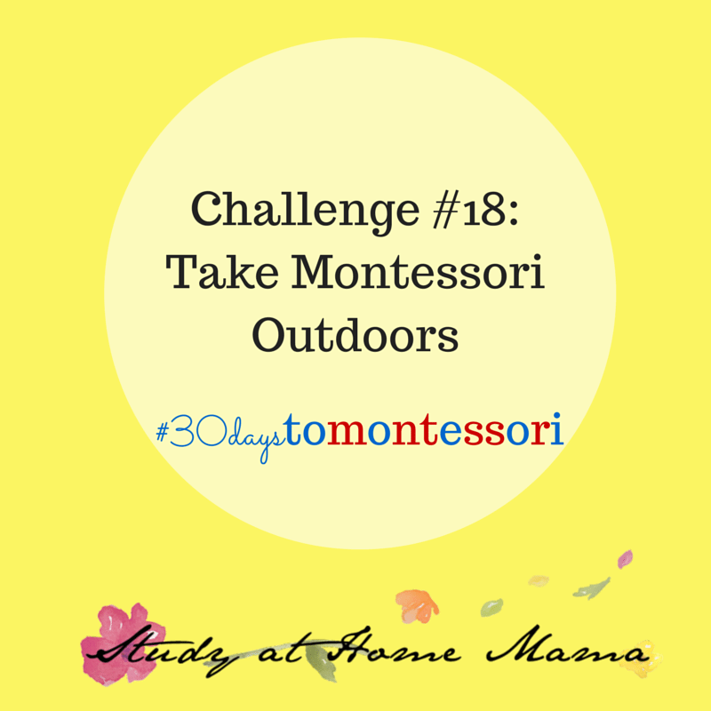 Take Montessori Outdoors