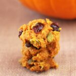 Pumpkin, Pepito, and Cranberry Cookies