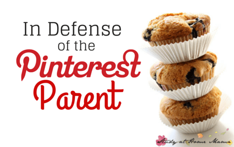 In Defense of the Pinterest Parent - accepting our differences and allowing others to express themselves!