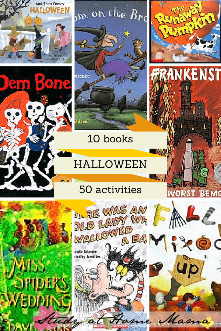 10 BOOKS AND 50 ACTIVITIES FOR HALLOWEEN