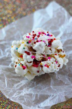 Birthday Popcorn Balls