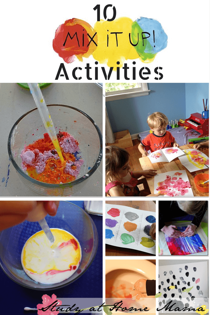 10 Colour Mixing Activities + Mix It Up Review ⋆ Sugar, Spice and ...