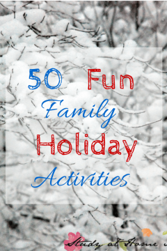 50 Family Holiday Activities