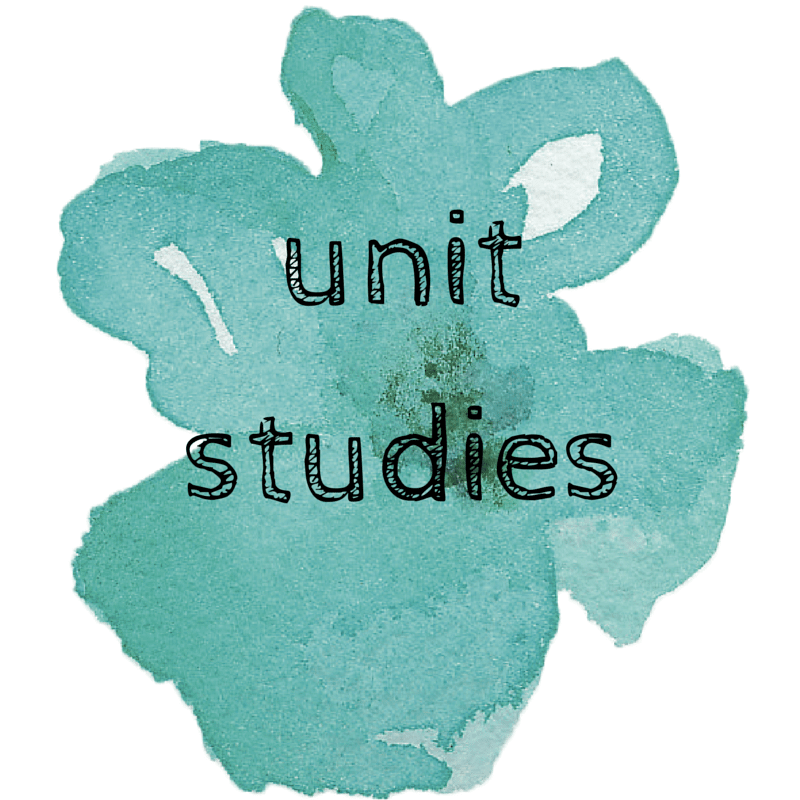 Main page for all of Sugar, Spice and Glitter's Unit Studies - Montessori and Reggio
