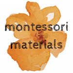 Montessori Materials on  Sugar, Spice and Glitter -- a review of our educational materials, lessons on how to present montessori work, and DIY montessori tutorials