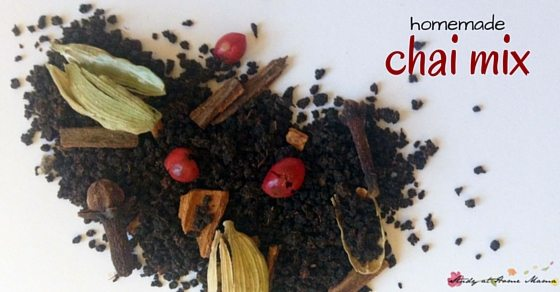 Homemade chai tea - make your own chai tea to save money, or as a great homemade gift idea