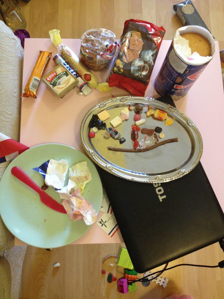 Eating scanadavian foods as part of a Frozen inspired preschool unit study
