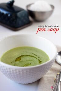 Easy Homemade Pea Soup