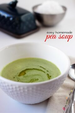 Kid-friendly Pea Soup