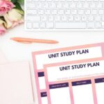Unit Study Planning Printables