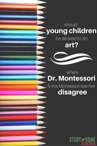 Should Young Children be Allowed to do Art?