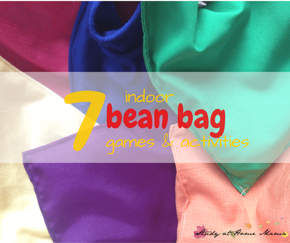 7 INDOOR BEAN BAG GAMES AND ACTIVITIES
