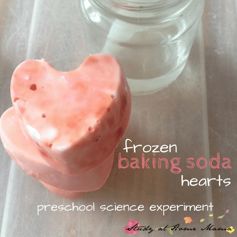Fizzy Baking Soda Hearts: Valentine's Day Science ⋆ Sugar
