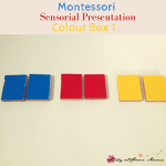 Montessori Sensorial: Colour Box 1 Presentation