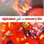 Jell-O Alphabet Play