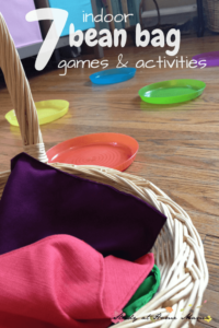7 Indoor bean bag games