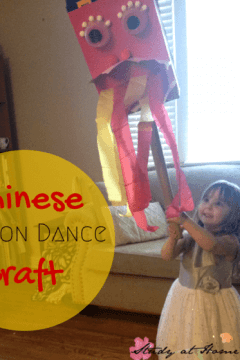 Chinese Dragon Dance Craft