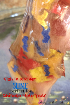 Chinese New Year Slime & How the Carp Turned into a Dragon