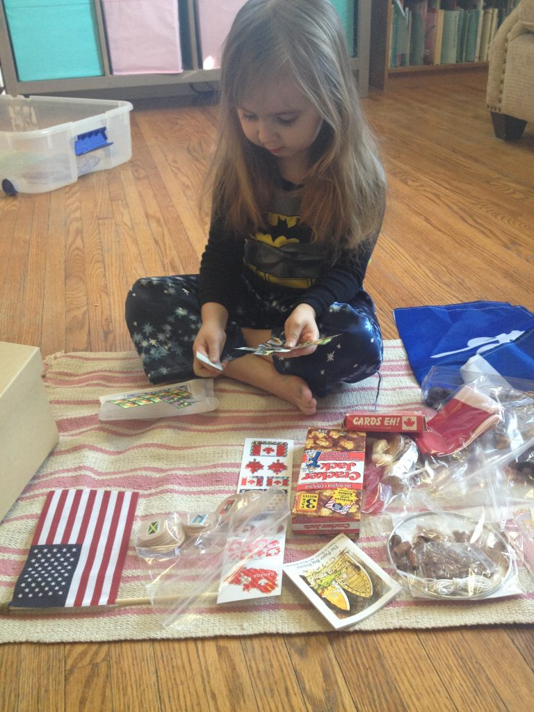 Unboxing the Montessori Continent Boxes: North American hands-on cultural learning