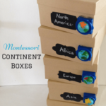 Montessori Continent Boxes & An Exciting Announcement