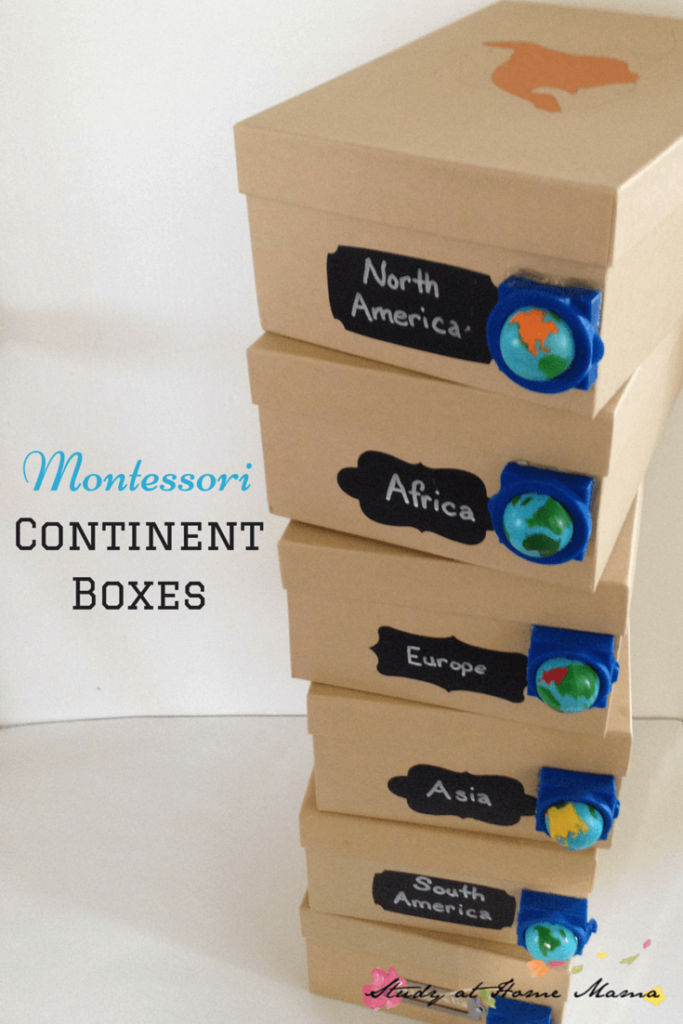 Montessori Continent Boxes And An Exciting Announcement About Hands On Geography With Kids