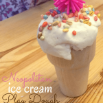 Hair Conditioner Play Dough: Ice Cream Play Dough Invitation (with Video)