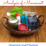 Montessori Practical Life: Analysis of Movement