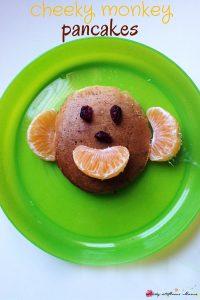 Cheeky Monkey Pancakes