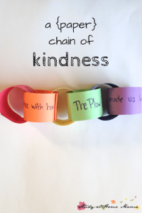 a {paper} Chain of Kindness