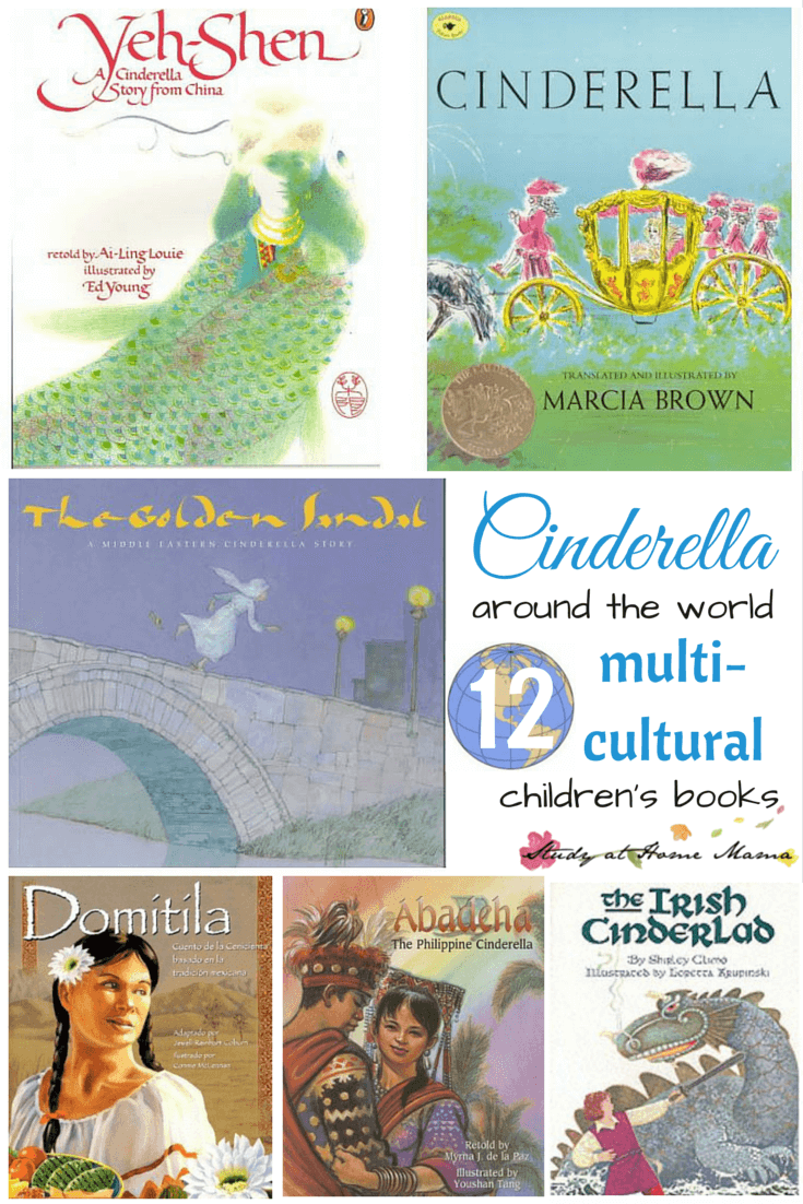Cinderella Around the World: 12 Multi-cultural children's books about Cinderella, part of a Cinderella Unit Study using Montessori