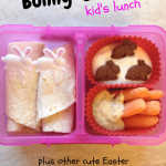 Cute & Easy Bunny-Themed Lunch for Kids