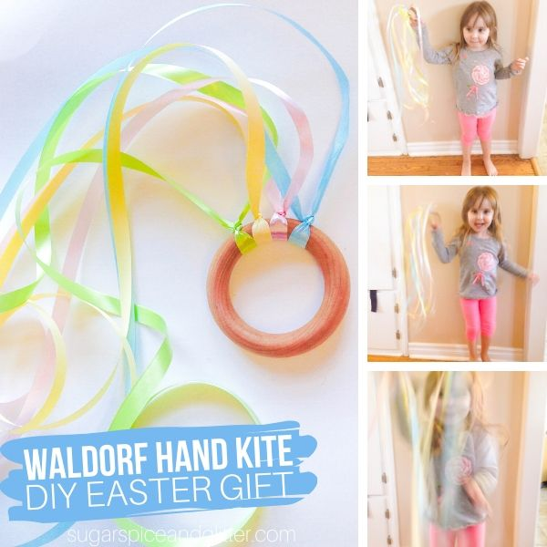 How to make a Waldorf Hand Kite for Kids
