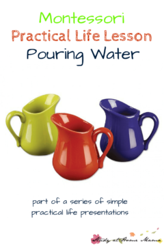 Practical Life: Pouring Water