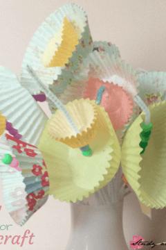 Easy Spring Flower Craft for Kids