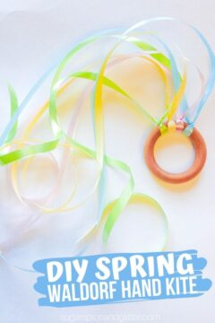 Spring Waldorf Hand Kite